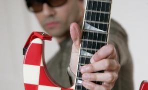 Dave Sharman's favourite Jackson checkerboard soloist custom
